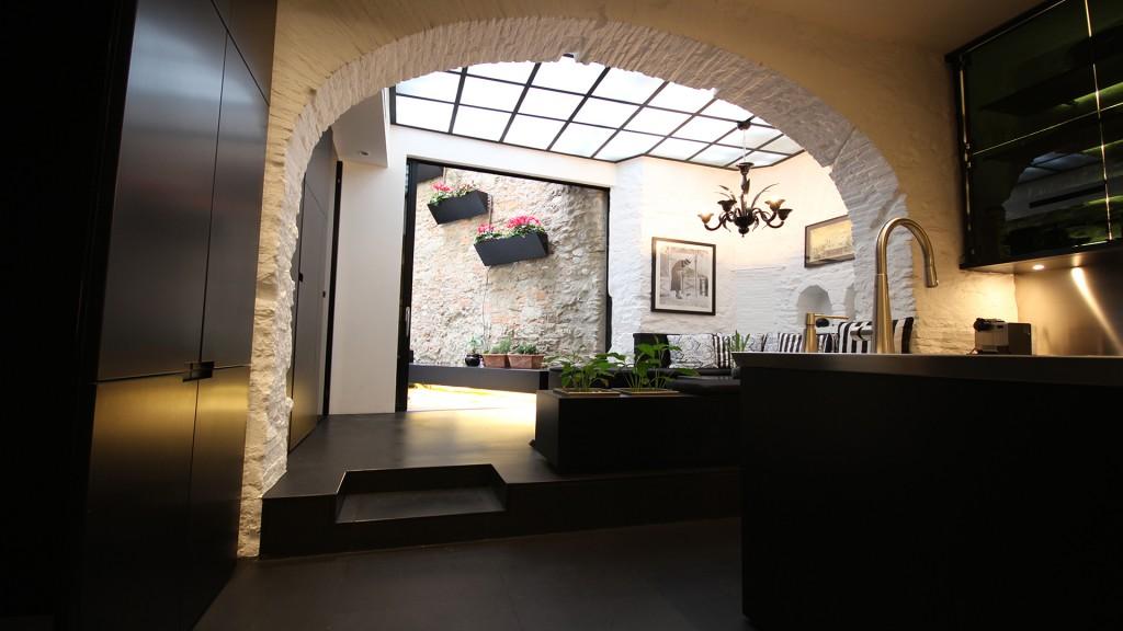 loft di lusso realizzato da cogesim general contractor