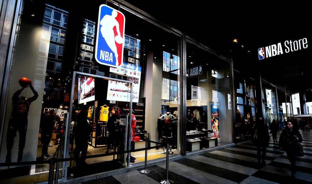 General contractor luxury retail NBA